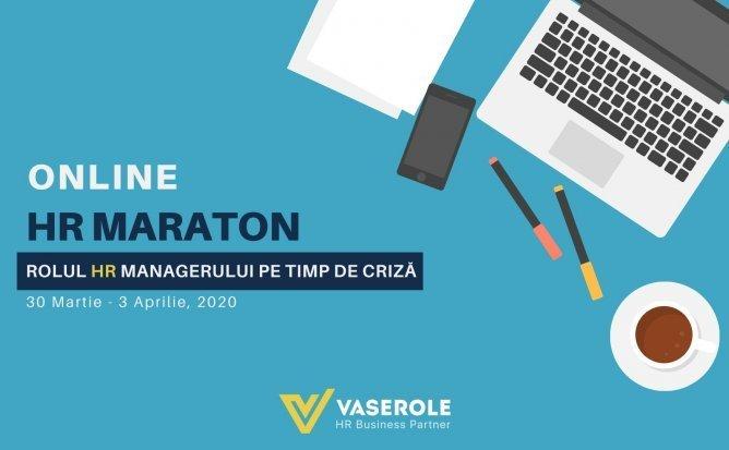 Online HR MARATON: ROLUL HR MANAGERULUI PE TIMP DE CRIZĂ