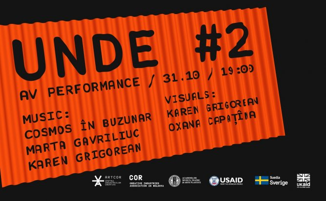 UNDE #2 - Performance audio-vizual