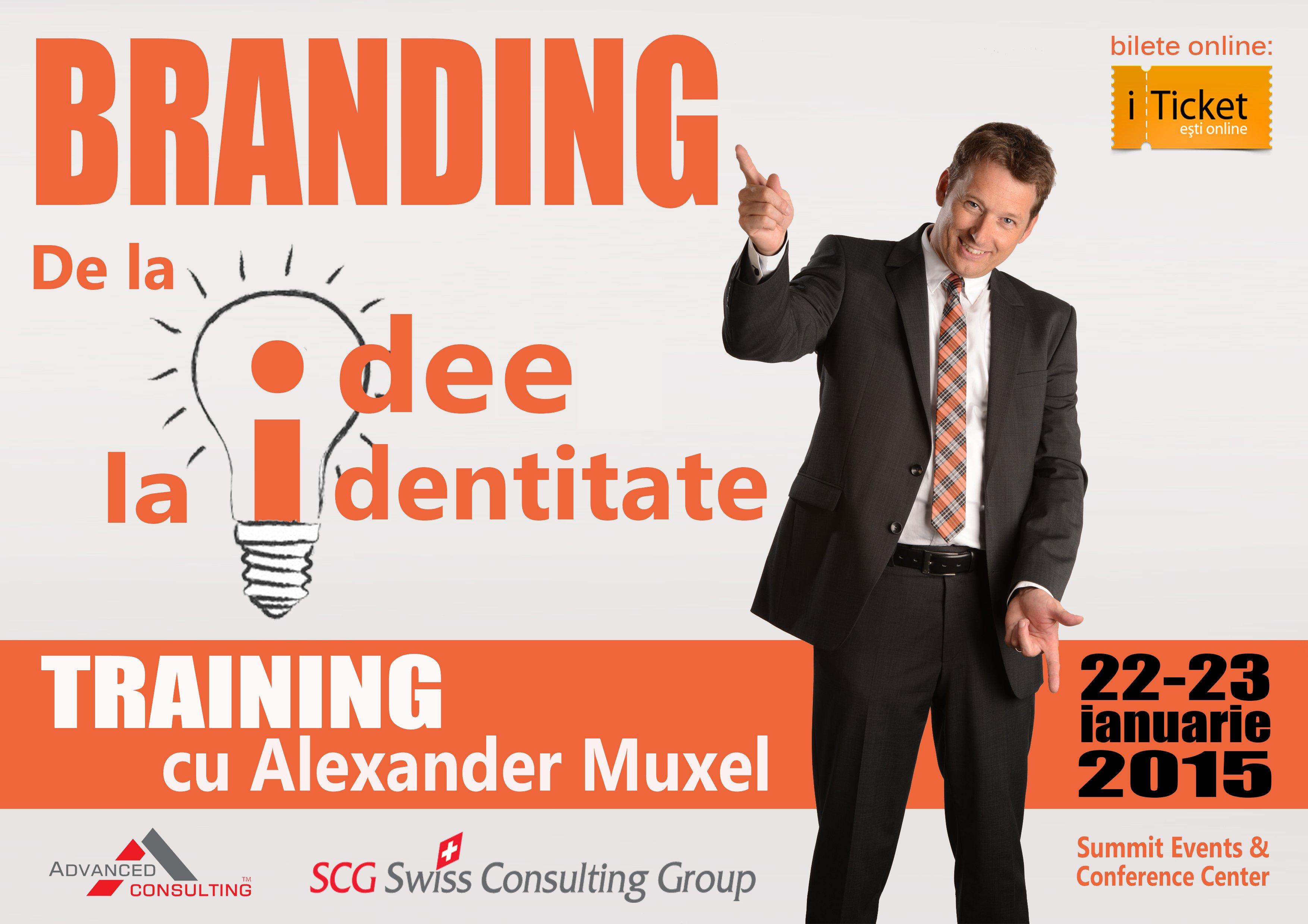 Branding: De la ideie la identitate
