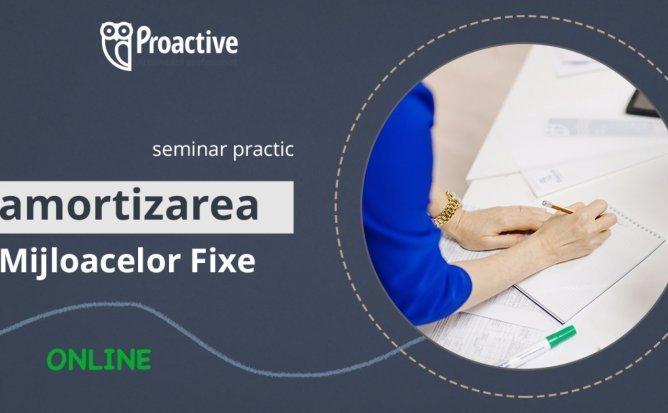 Seminar practic - Amortizarea mijloacelor fixe. Tranzitia la metoda noua de calcul