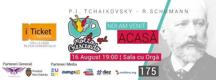16 august - Festivalul de Muzica Clasica - Moldo Crescendo op. 1
