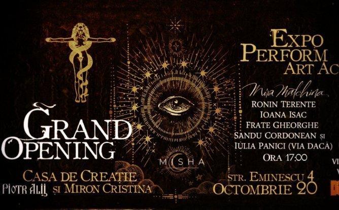 Grand Opening - Casa de Creatie Piotr Alii si Miron Cristina