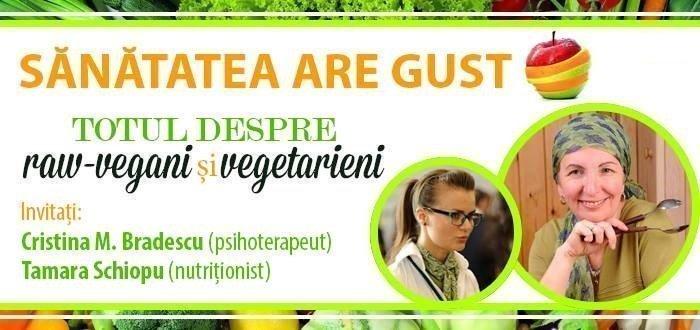 Totul despre raw-vegani si vegetarieni