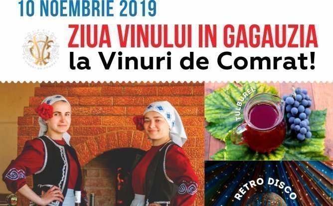 Gagauz Şarap Yortusu cu Vinuri de Comrat