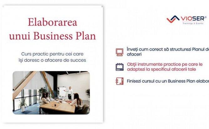 ELABORAREA UNUI BUSINESS PLAN DE SUCCES
