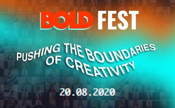 BOLD FEST Pushing the boundaries of creativity