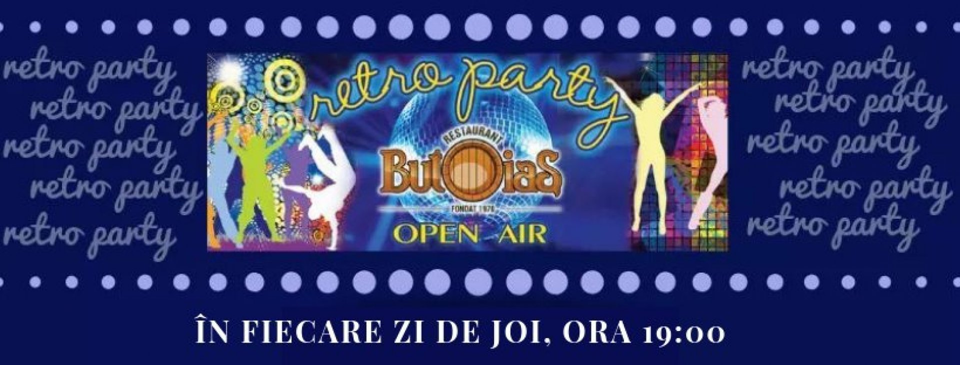 Butoias RETRO PARTY - Open air