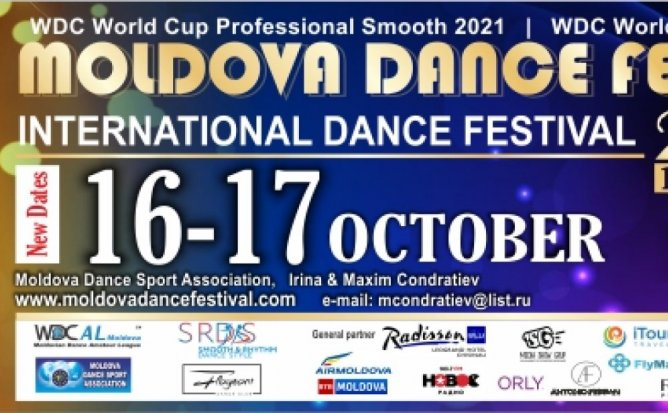 17 Octombrie 14:00-16:30 - Moldova Dance Festival 2021