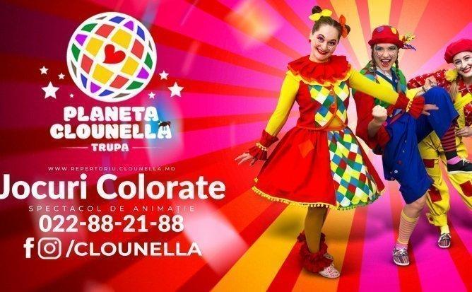 Jocuri Colorate - Program - Spectacol de Animație pentru Copii | August | 2 - 7 ani