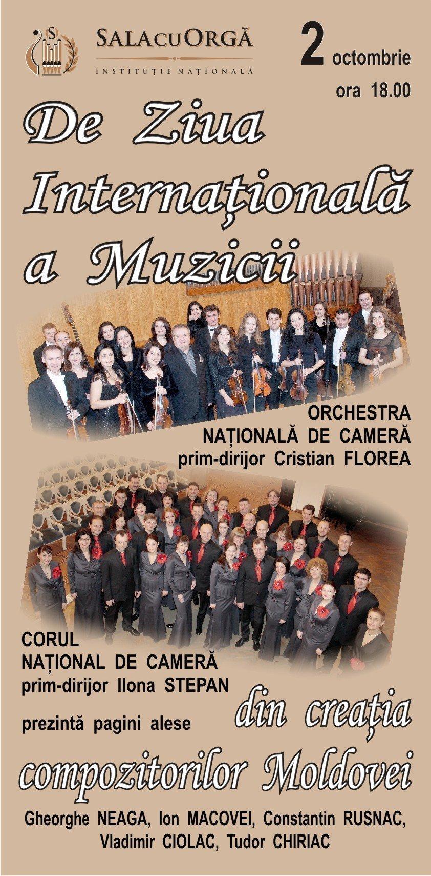 De ziua internationala a muzicii