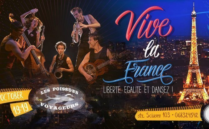 Le Poissons Voyageurs - ethno-jazz, balkanic, folk show