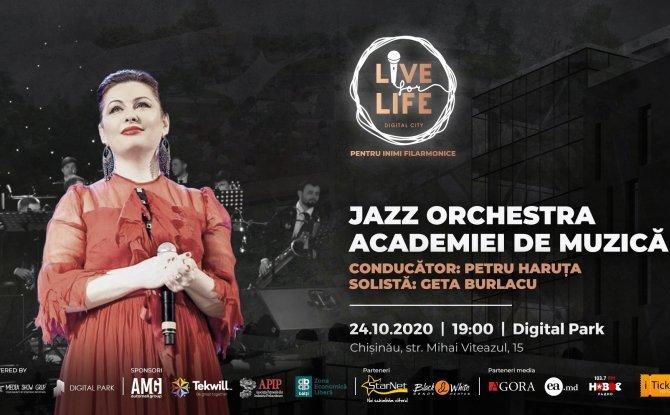LIVE FOR LIFE. JAZZ ORCHESTRA AMTAP ȘI GETA BURLACU