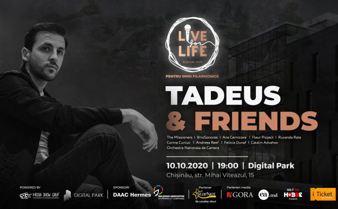 LIVE FOR LIFE. ELIAS TADEUS & FRIENDS