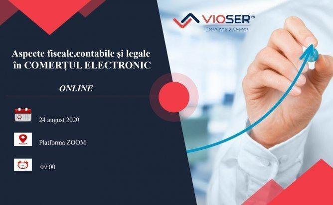 ASPECTE FISCALE, CONTABILE SI LEGALE IN COMERTUL ELECTRONIC