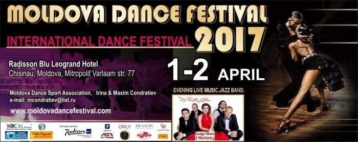 1 Aprilie-9:00-Moldova Dance Festival 2017