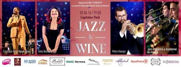 jazz and wine