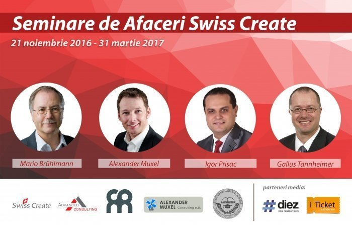 Seminare de afaceri Swiss Create