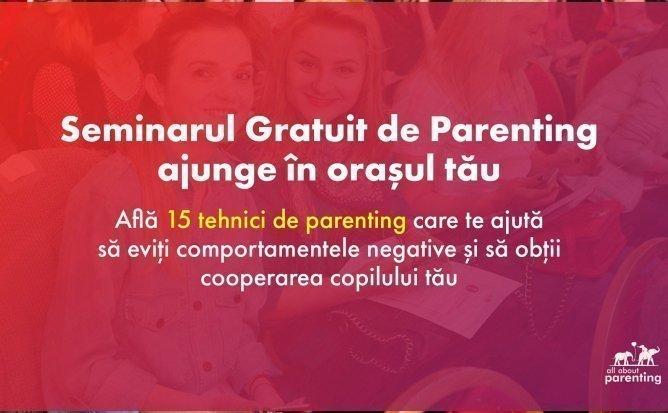Seminar Gratuit de Parenting | 23 Noiembrie, Chişinău