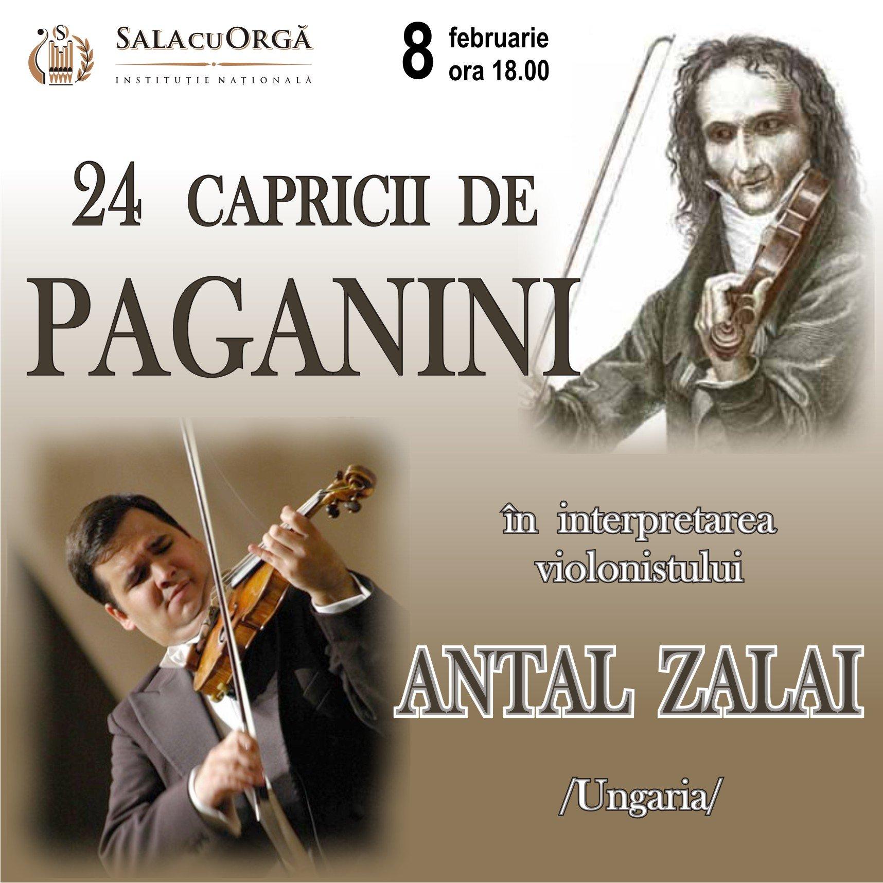 24 Capricii de Paganini