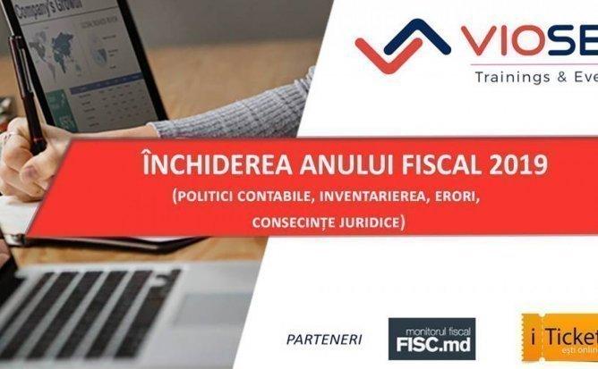Inchiderea anului fiscal 2019 11.02