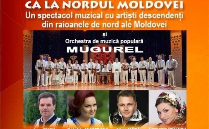 CA LA NORDUL MOLDOVEI