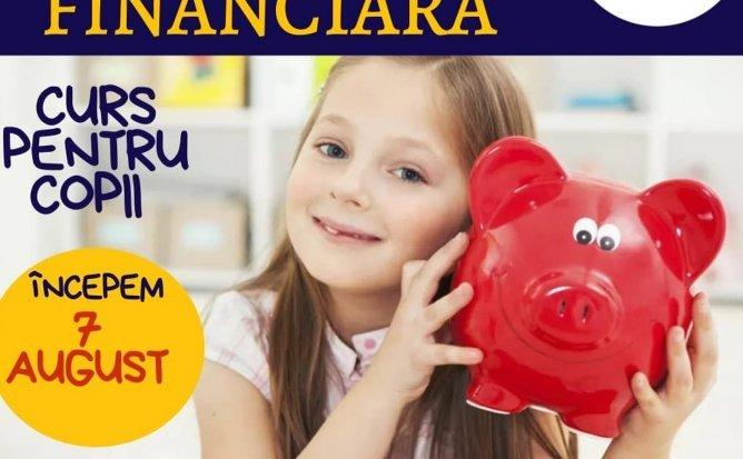 Curs de educație financiară și antreprenoriat pentru copii cu vârsta de 7-12 ani