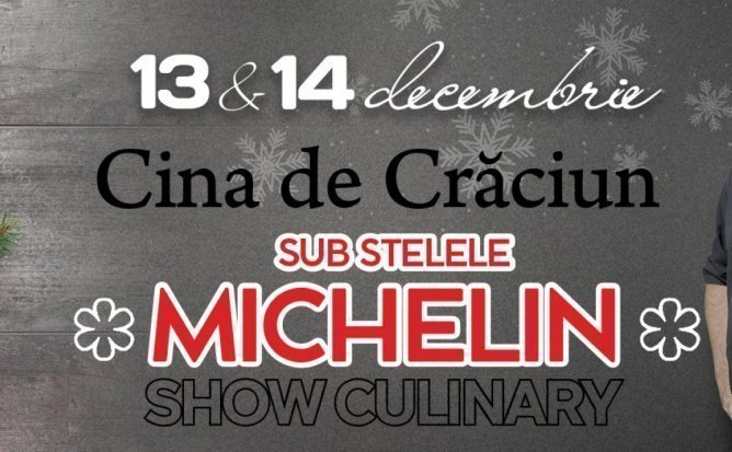Show culinar de Craciun sub stelele Michelin