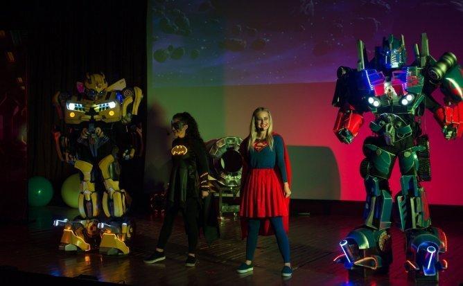 Synopsis - Spectacol Interactiv de Animatie pentru copii realizat de Liga Robotilor | Martie 2021 | +4
