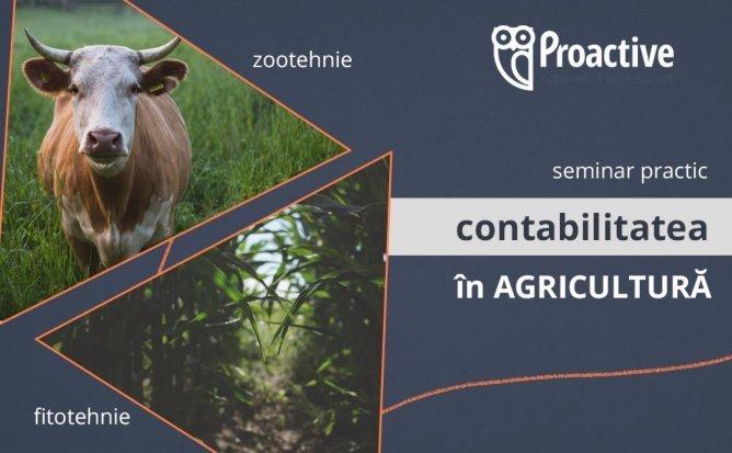 Contabilitatea în Agricultură - seminar practic