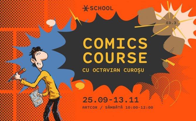 Comics Course la Școala Artcor cu Octavian Curoșu