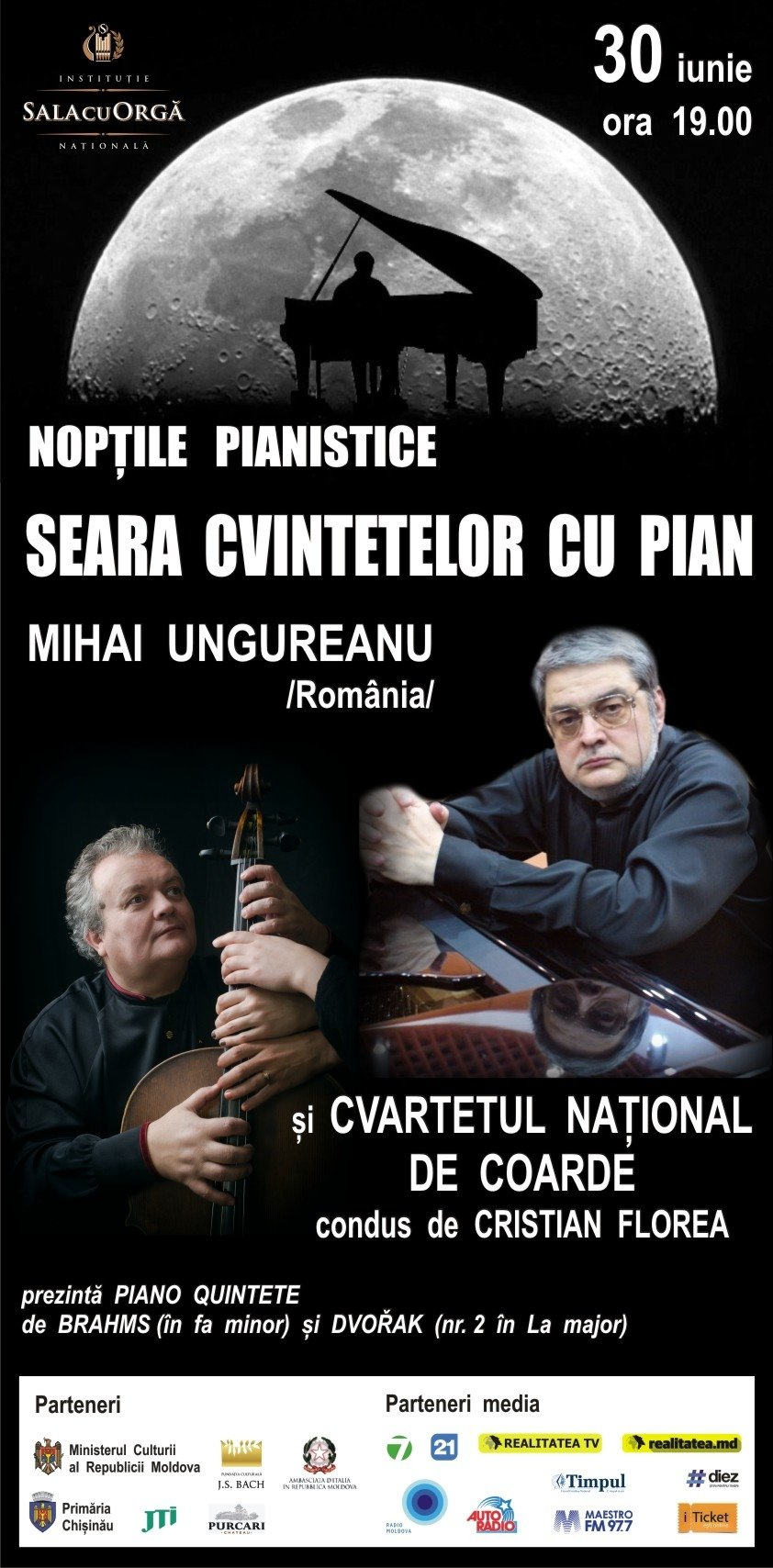 Noptile pianistice cu Mihai Ungureanu