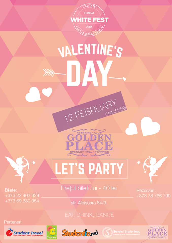 valentine's day la golden place