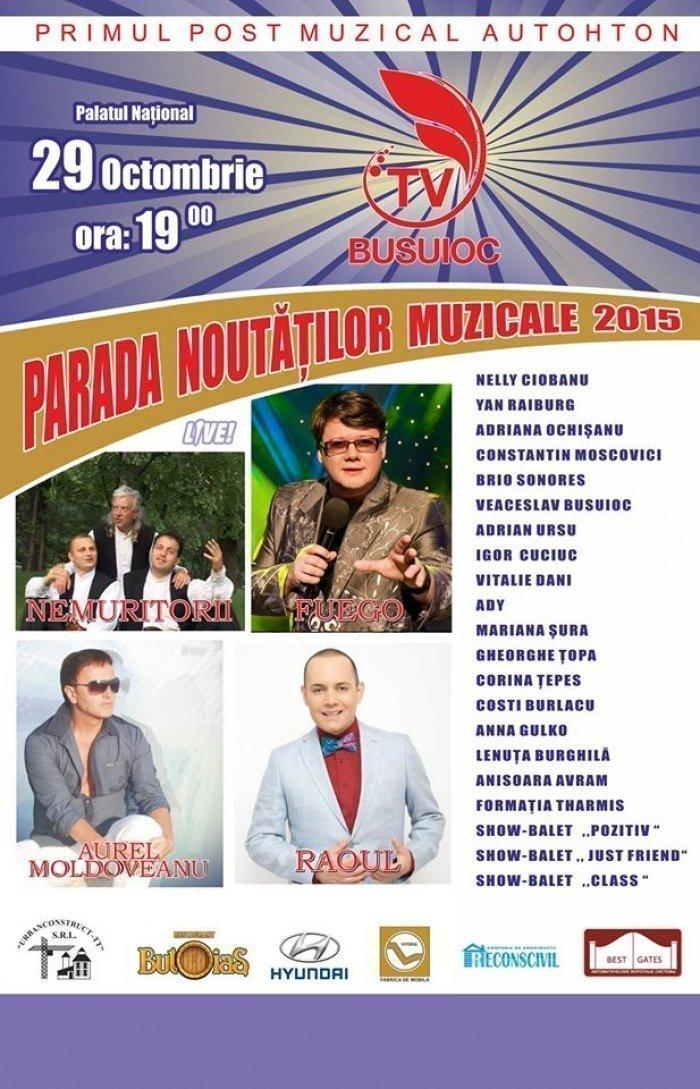 Parada Noutatilor Muzicale 2015