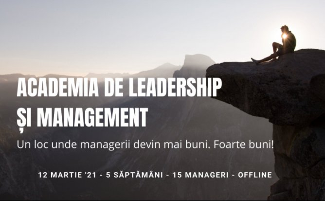 Academia de Leadership si Management