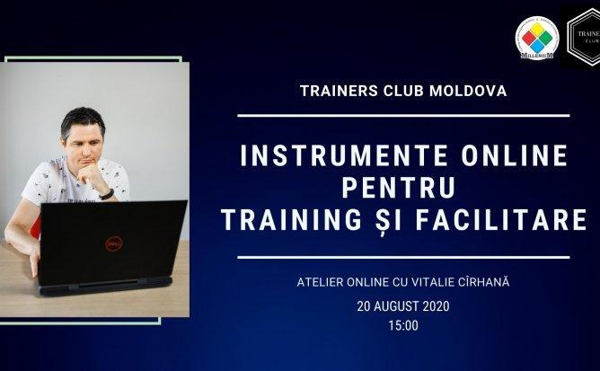 Instrumente online pentru training si facilitare