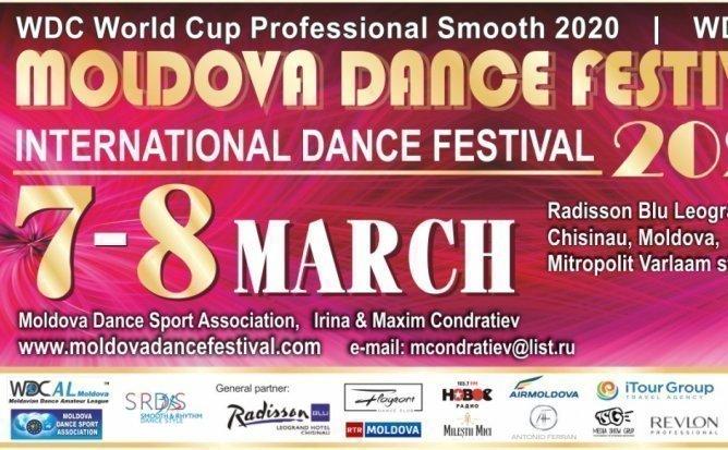 7 Martie |9:00| Moldova Dance Festival 2020