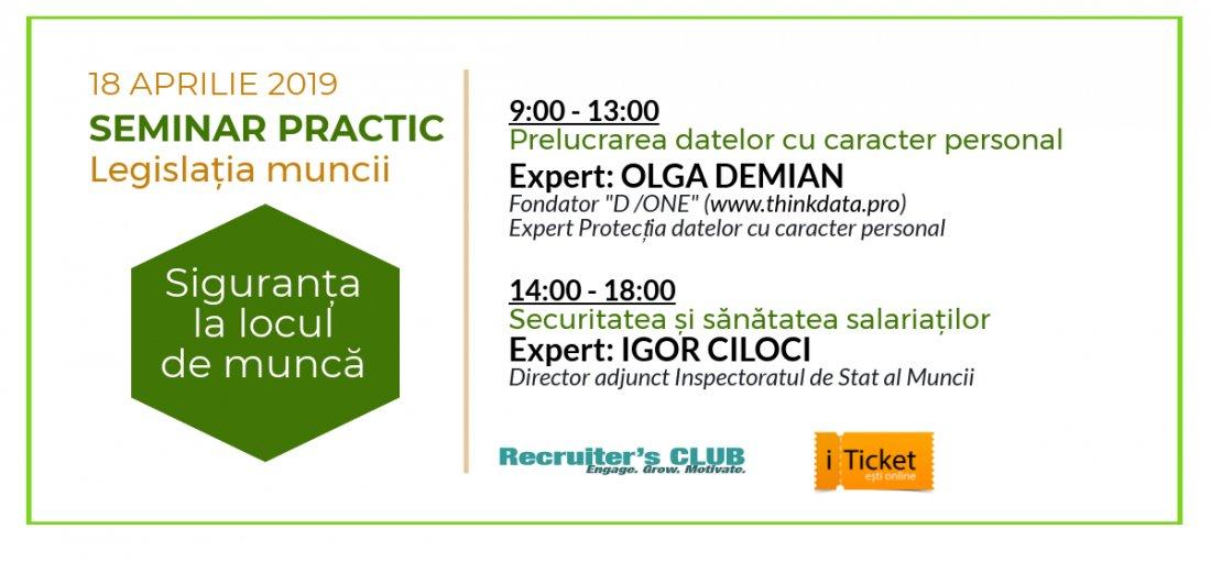 Seminar: Legislatia Muncii