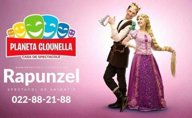 Rapunzel- Spectacol Interactiv de Animatie pentru copii | August 2019 | +3