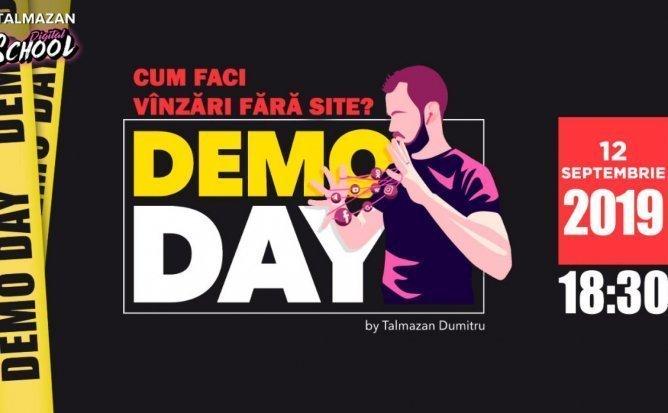 DemoDay - Cum faci vanzari fara site? Cu Dumitru Talmazan