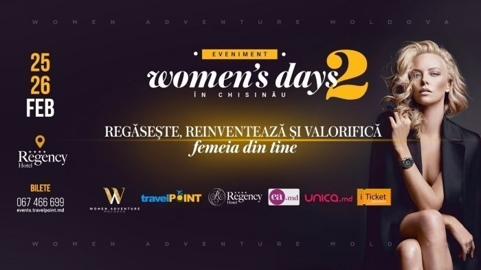 WOMENS Days in Chisinau a II-a editie