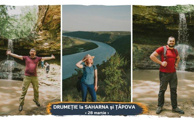 Drumeție la Saharna și Țâpova