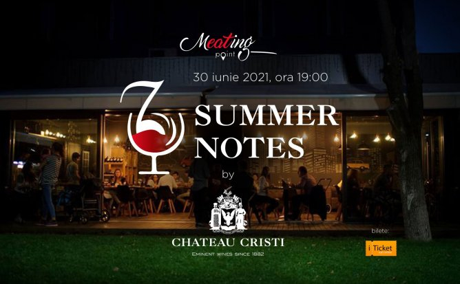 SUMMER NOTES by Chateau Cristi