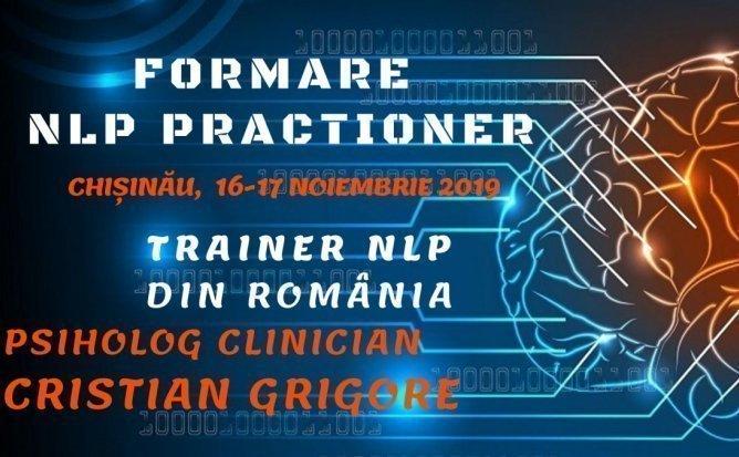 NLP PRACTITIONER - Program intensiv de dezvoltare personala