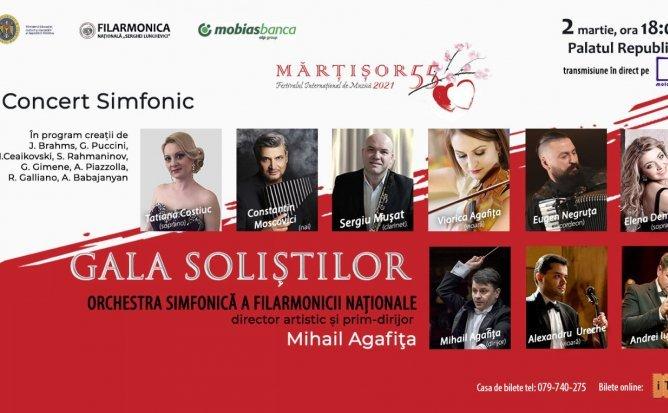 Concert Simfonic - Gala Soliștilor