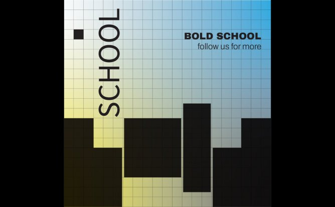 BOLD SCHOOL - CURSURI in NEW MEDIA