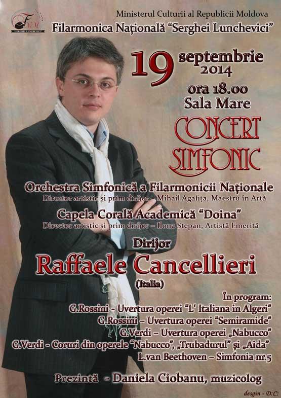 Rafaelle Cancellieri - Concert Simfonic