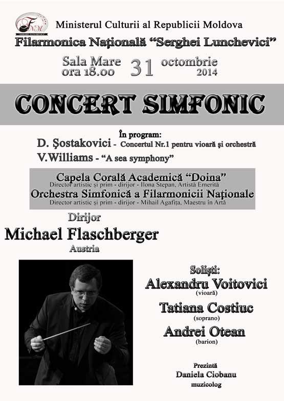 Concert Simfonic cu Michael Flashchberger (Austria)