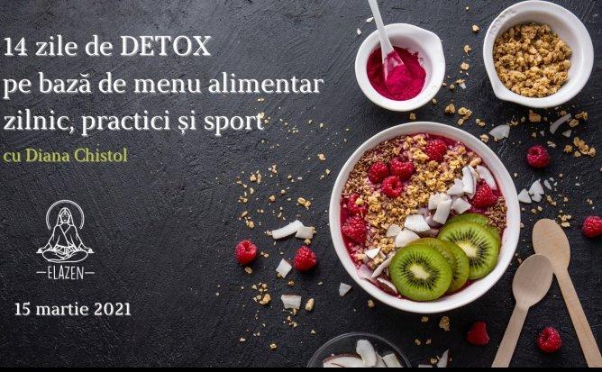 Detox1 cu Diana Chistol - Program Online de Detox | Editia 16