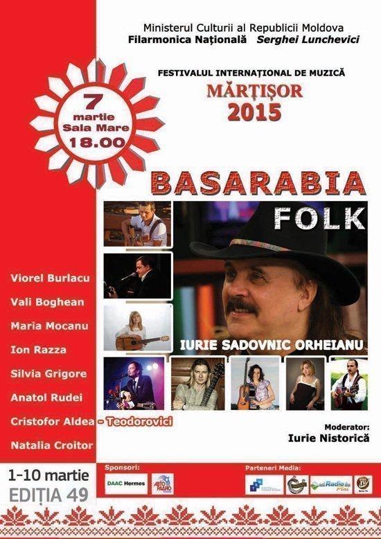 Basarabia Folk cu Iurie Sadovnic Orheianu