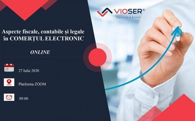 Aspecte fiscale, contabile și legale în comerțul electronic